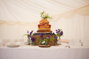 12th September 2012. Tamsin and Alex's wedding at Middle Coombe Farm in